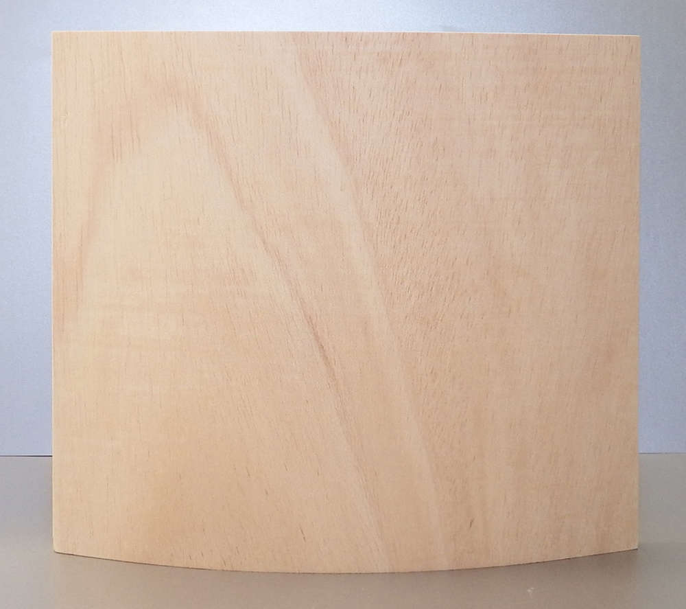 Konvex gebogene Sperrholzplatte, Künstler Programm - Kunstwerkstatt ...