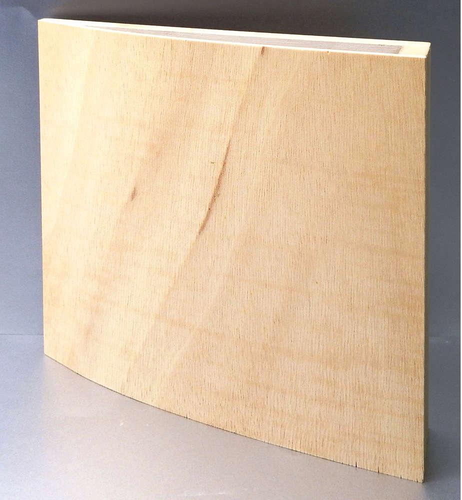 Einseitig gebogene Sperrholzplatte, Künstler Programm ...